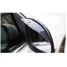 Mika Talang Air Pelindung Kaca Cermin Talang Spion Mobil Anti Air Hujan Kotor Car Rear Mirror Rain Guard / Mika Pelindung Kaca Spion By Luckystore.