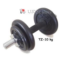 Situs Review Ludoz Dumbbell Set Tz 10Kg Stick Dumbell China Rubberized Dg Plat Beban Barbell Hi Quality