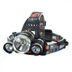 Kualitas Lumens T6 High Power Headlamp Cree Xm L T6 5000 Hitam Lumens