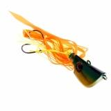 Harga Hemat Luminous Metal Lead Head Jigs Fishing Lures Glow In Dark Umpan Squid Hooks 65G Intl