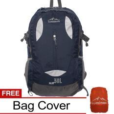 Beli Luminox Tas Hiking Backpack Ransel Travel Outdoor Carrier 5025 30 Liter Gratis Rain Cover Biru Tua Hk Online