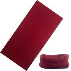Lumiparty Luar Ruangan Multifungsi Naik Sihir Syal, Warna Polos, Tabung Bandana Tanpa Batas, ikat Kepala Elastis Tinggi dengan Resistensi UV Warna: OUD003