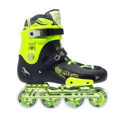 Spesifikasi Lynx Sepatu Roda Inline Skate Lynx Boxer Neon Hitam Lengkap Dengan Harga
