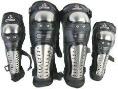 Harga Madbike Alumunium Knee Elbow Protector Pelindung Tangan Dan Kaki Mad Bike Set Termurah