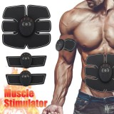 Review Pada Magic Ems Muscle Training Gear Abdominal Abs Fit Body Exercise Stimulator Black Intl