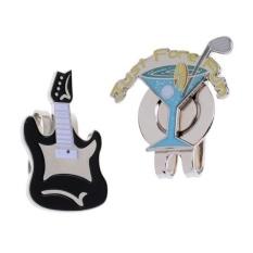 Harga Magideal Paduan Klip Topi Dengan Removable Golf Ball Marker Cup Gitar Internasional Magideal Tiongkok