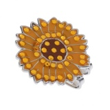 Diskon Besarmagideal Alloy Sunflower Golf Hat Clip Dengan Magnetic Ball Marker Golf Aksesoris Intl