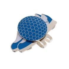 Beli Magideal Lucu Sepatu Stainless Steel Golf Hat Clip Dengan Magnetic Ball Marker Biru Lengkap