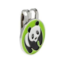 Jual Magideal Logam Panda Magnetic Golf Ball Marker Aksesori Dengan Hat Clip Pegolf Hadiah Intl Di Tiongkok