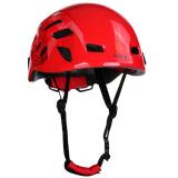 Spesifikasi Magideal Helm Pendakian Gunung Helm Memanjat Luar Ruangan Helm Keselamatan Peindung Rappelling Merah Lengkap