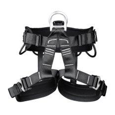 Magideal Keselamatan Profesional Panjat Tebing Rappelling Harness Kursi Duduk Bust Belt Black Magideal Diskon