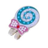 Magideal Kokoh Mengkilap Lollipop Cap Klip Magnetik Ball Marker Clip On Cap Visor Intl Tiongkok Diskon 50