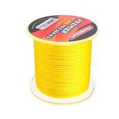 MagiDeal Super Strong 300M 0.18mm 15LB PE Braided Lines Sea Fishing Line Yellow - intl
