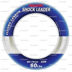 Maguro Shock Leader 60lb Senar Pancing Tali Umpan Joran Pancingan Mancing Mania Air Laut Tawar Makanan Makan Pakan Ikan