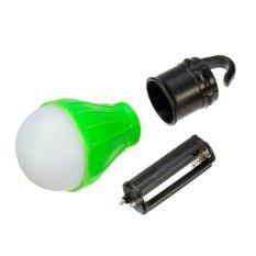 Makiyo Hemat Energi Kolam Gantung Lampu LED Lampu Berkemah Tenda (Hijau)