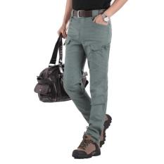 Pria Kolam Pelatihan Banyak Kantong CLASSIC FIT Berbahan Celana Warna: Hijau Tentara Ukuran: S-Intl