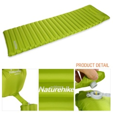 Spesifikasi Manually Inflatable Camping Mat Tent Air Mattress Outdoor Hiking Sleeping Pad Green Intl Dan Harga