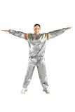 Harga Marlow Jean Sport Sauna Suit Setelah Baju Sauna Pembakar Lemak Silver Termurah