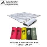 Harga Matras Camping Alumunium Foil Paling Murah