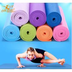 Toko Matras Yoga Flex Fit 6Mm Bag Matras Senam Kwalitas Bagus Biru Muda Dki Jakarta