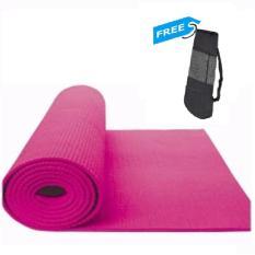 Toko Matras Yoga Ketebalan 8Mm Free Tas Jaring Lengkap