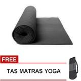 Toko Homedepot Matras Yoga Mat 6Mm A383 Hitam Free Tas Termurah Di Indonesia