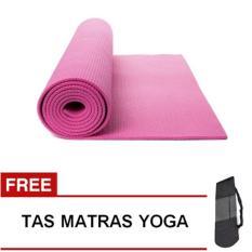 Pusat Jual Beli Homedepot Matras Yoga Mat 6Mm A383 Pink Free Tas Indonesia