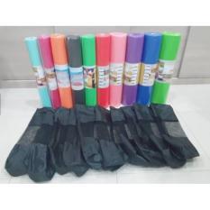 Jual Matras Yoga Mat Import Polos 7Mm Tas 173Cmx61Cmx7Mm Yogamat Online