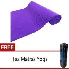 Matras Yoga Pilates Ungu Gratis Tas Matras 6Mm Dki Jakarta Diskon