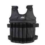 Jual Max Loading 20 Kg Adjustable Weighted Vest Jaket Latihan Tinju Pelatihan Pinggang Invisible Weightloading Sand Pakaian Kosong Intl Oem Ori