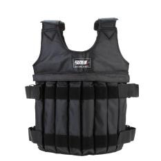Jual Max Loading 20 Kg Adjustable Weighted Vest Jaket Latihan Tinju Pelatihan Pinggang Invisible Weightloading Sand Pakaian Kosong Intl Ori