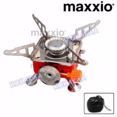 Maxxio Kompor Gas Portable untuk Camping Portable Stove