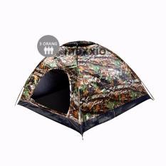 Review Pada Maxxio Tenda Camping 3 Orang 200Cm X 150Cm Double Layered Door Motif Loreng