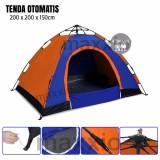 Jual Maxxio Tenda Camping Otomatis 4 Orang Ukuran 200Cm X 200Cm Branded