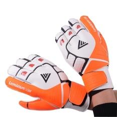 Pria Lateks Kiper Sarung Tangan Sepak Bola Sepak Bola Gloves-LaTeX Plam Kiper Sarung Tangan untuk Latihan-Intl