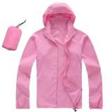 Beli Pria Wanita Cepat Kering Hiking Jaket Tahan Air Upf30 Sun Uv Perlindungan Coat Outdoor Sport Kulit Camping Clothing Warna Pink Ukuran S Intl Online Murah