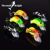 Mermaidknight 6 Pcs Fishing Lure Soft Umpan Perikanan Buatan 6 Warna Fishing Tackle Topwater Hook 55Mm 8 8 G Intl Murah