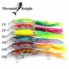 Review Mermaidknight Buatan Fishing Tackle 6 Warna 40G Bait Colorful Beard Octopus Baru 1 Pcs 14 Cm Beard Lures Fishing Lure Jig Kepala Gurita Umpan Internasional Di Tiongkok