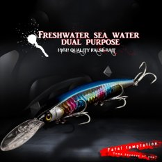 Promo Mermaidknight Fishing Lures Floating Minnow 145Mm Laser Hard Artificial Bait 3D Eyes Fishing Wobblers Crankbait Professional Baits Intl Mermaidknight