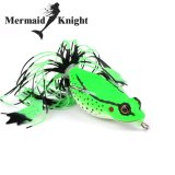 Review Mermaifknight 1Pc Frog Lures High Quality Fishing Bait 6 Colors Fishing Lures 6Cm 2 36 46Oz 13 18G Fishing Tackle Hard Bait Intl Di Tiongkok