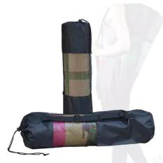Mesh Yoga Mat Bags Portable Nylon Gym Yoga Backpack Bag-Intl