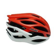 Beli Mexel Sv 100 Red White Helm Sepeda Mexel
