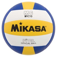 Mikasa Bola Voli Mg Mv210 Volly Fivb Volley Ball Size 5 Volleyball Volli Sport Mv 210 Bahan Lembut Ringan Servis Service Passing Smash Spike Tidak Sakit Di Tangan Bola Tangan Handball Perlengkapan Olahraga Sporty - Kuning By Topaten.