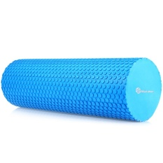 MILY SPORT EVA Point 3.93 Inches Yoga Foam Roller untuk Fitness Home Gym Physiotherapy Massage (Biru)-Intl
