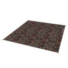 Mini Foldable Beach Picnic Blanket Waterproof Outdoor MAT (150x150 Cm, Tentara Hijau Kamuflase)-Intl