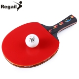 Toko Mobil Kecil Regail D003 Tenis Meja Ping Pong Raket Satu Shake Hand Grip Bat Paddle Bola Merah Warna Merah Intl Lengkap Tiongkok