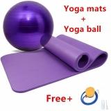 Beli Mitps Yoga Set Non Slip Yoga Mats Untuk Kebugaran Pilates Latihan Mat 65 Cm Yoga Bola Kebugaran 1 Pompa Air Internasional Murah