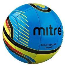 Harga Termurah Mitre Beach Soccer Training Ball Bola Soccer Pantai 10P Nomor 5 Biru Kuning