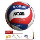 Model Molten 5000 Resmi Game Bola Voli Ukuran 5 Bola Molten V5M5000 Voli Lembut Pu Handball Intl Terbaru