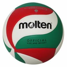 Molten Voli Voli Indoor Soft Bola PU Siswa V5M4500, V5M5000-Intl
